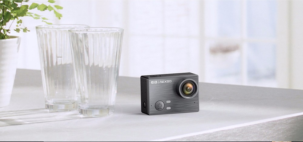 Elephone REXSO Explorer K Waterproof 4K Mini Action Camera