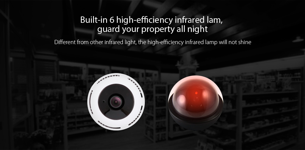 MF - IQ03 - MH - 960P 360 Degree Panoramic IP Camera