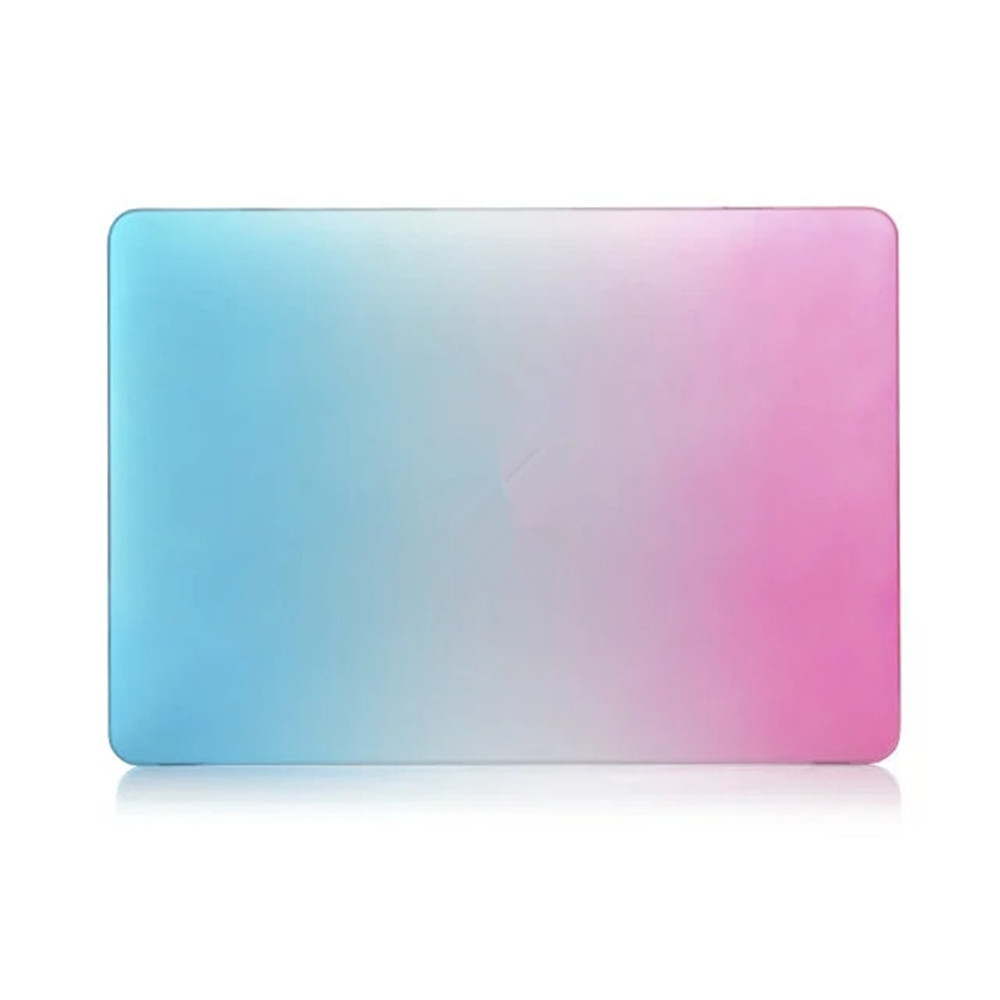 Fashion Rainbow Color Rubberized Hard Matte Case Cover Ultra-Thin Shell Case for Macbook Air 13.3 Pro A1706