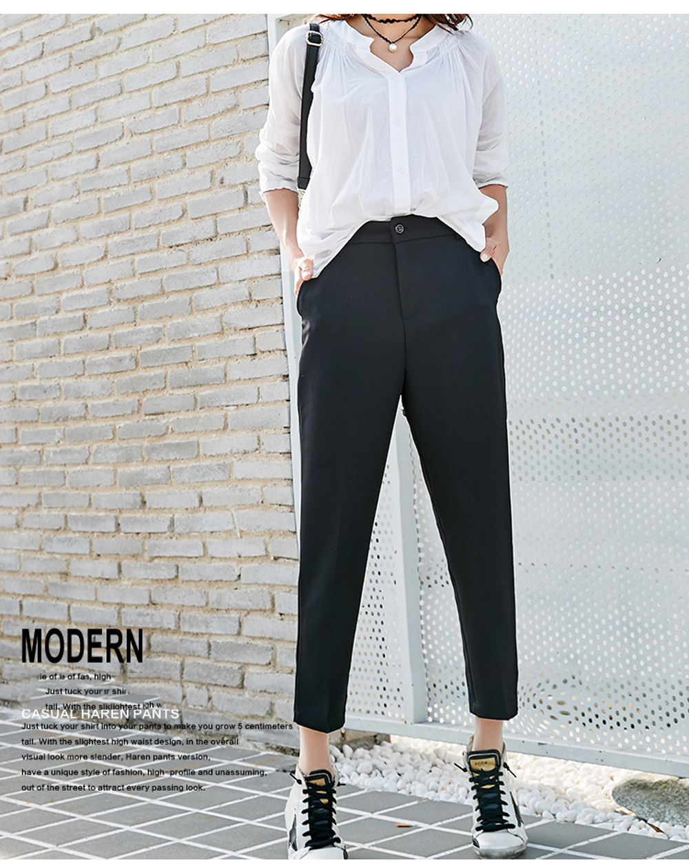 Women's Comfortable Commuter Style Trousers