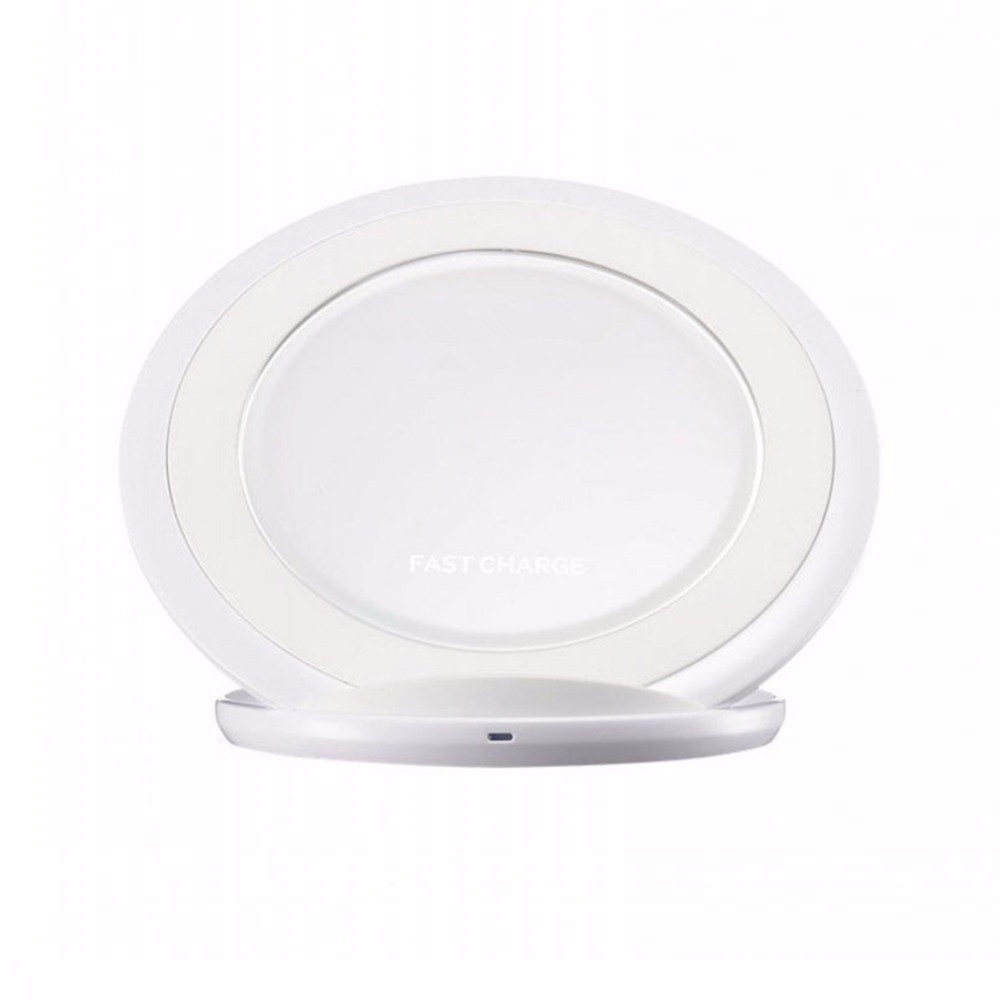 Qi Fast Wireless Charger Samsung Original for Phone for Samsung Galaxy S8 / G9500 / G9300 / G9508 / S6 / S7 Edge
