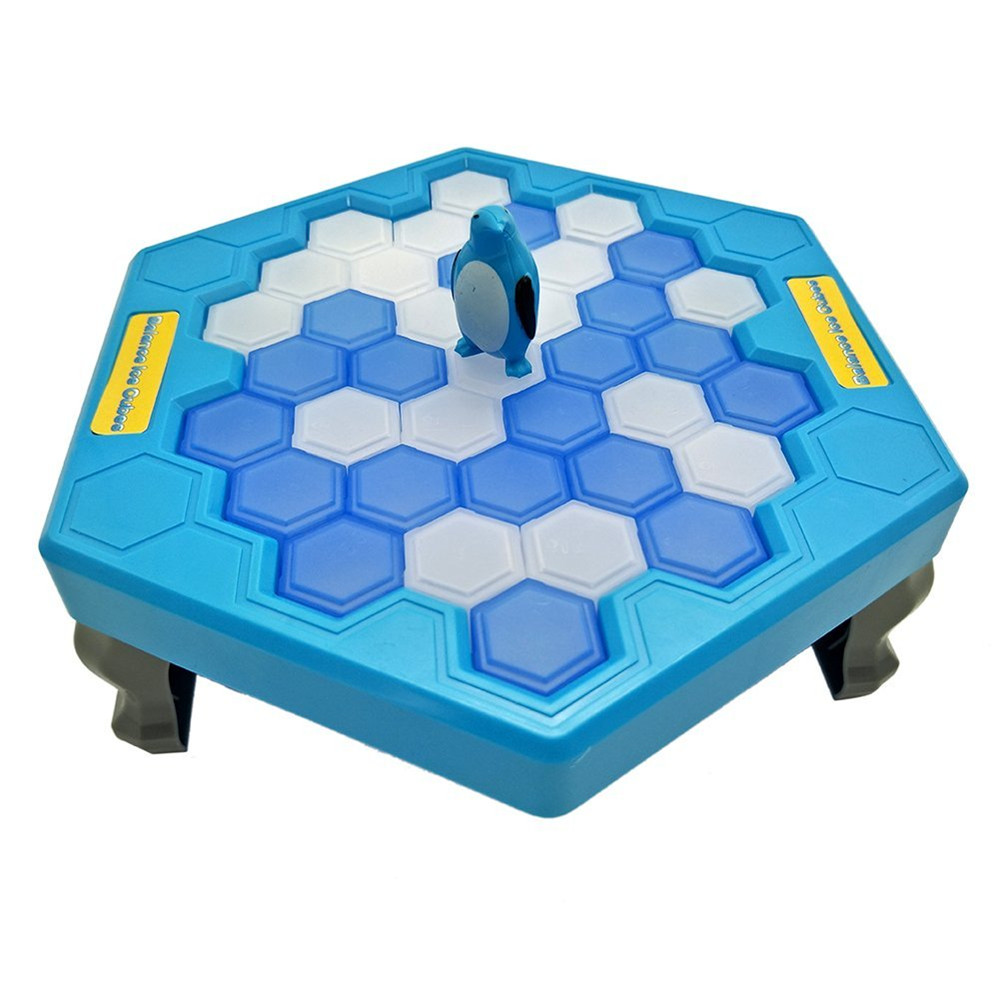 Ice block breaking game save penguin table game for Supreme 99 table game