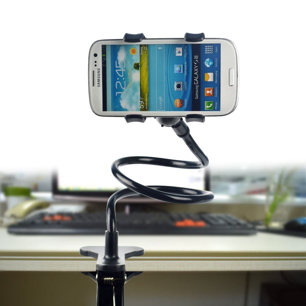 Universal Long Arm Mobile Phone Bracket Cradle