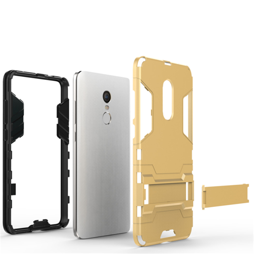 2 in 1 Bracket Phone Case for Xiaomi Redmi Note 4 / Redmi Note 4X