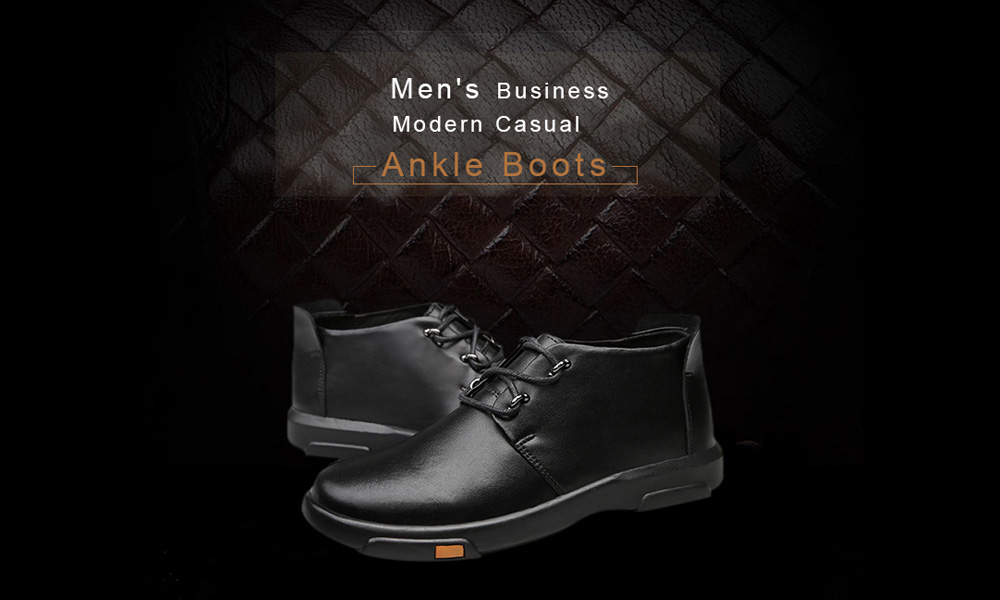 Business Elegant Modern Ankle Boots for Men
