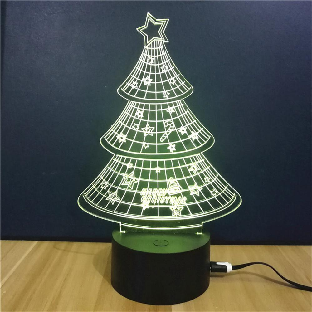 Christmas Tree Gift Advertising Promotion LED Touches The Color ...