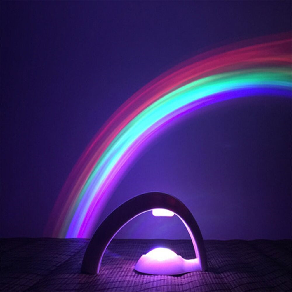 Lucky Rainbow Light Amazing Projector Lamp Night Light No Battery