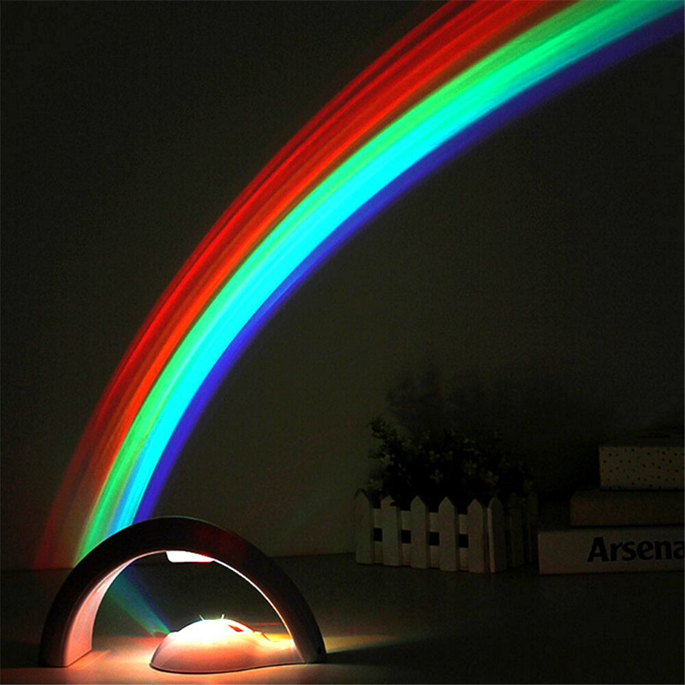 Rainbow night light design decoration for Night light design