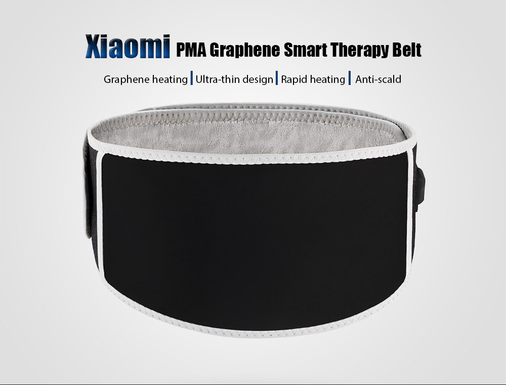 Xiaomi A10 Ultra-thin PMA Graphene Smart Therapy Belt with Rapid Heating Anti-scald Design