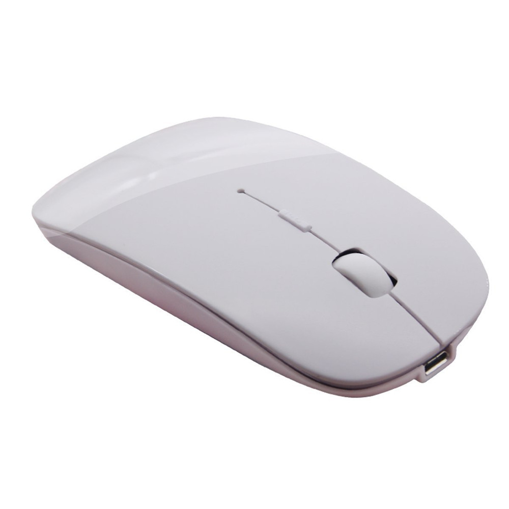 15e3118d7cd Slim Rechargeable Bluetooth Wireless Mouse Ultra-Slim Mice for Notebook PC  Laptop Computer Windows /
