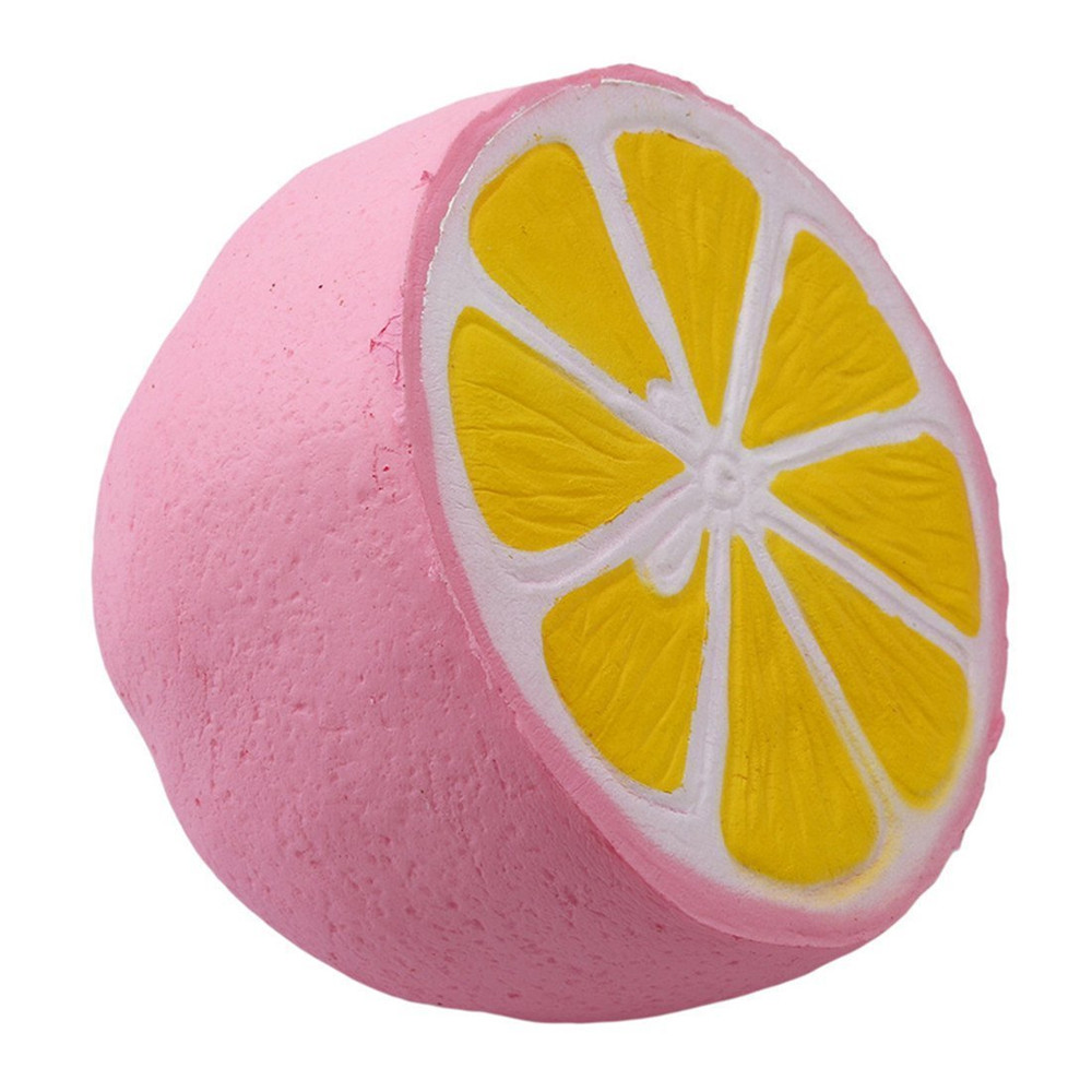 Cheeki Lemon Squishy Cream Scented Charms Kawaii Squishy Toys for Kids and Adults