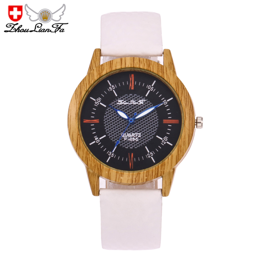 ZhouLianFa New Luxury Women'S Leather quartz Watch