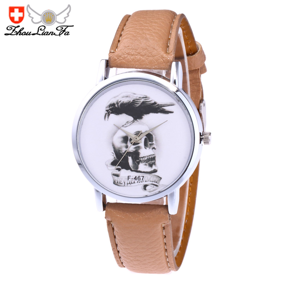 ZhouLianFa shion trendy cartoon casual ladies quartz watch