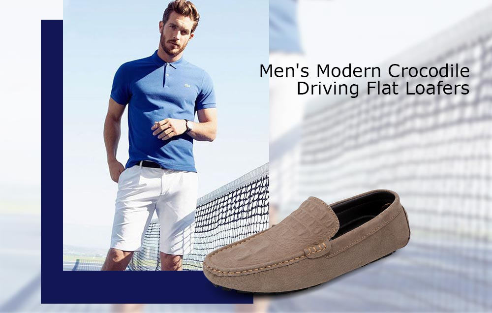 Modern Lightweight Driving Casual Flats and Loafers for Men