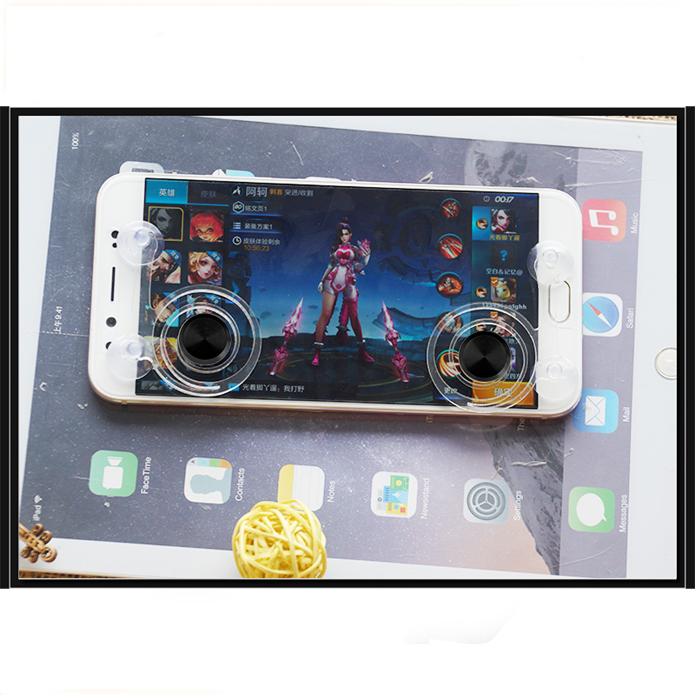 Mobile Game Joystick Rocker Touch Screen Joypad Tablet Funny It Gaming For Smartphone Pad Tab Controller Phone Or 2pcs