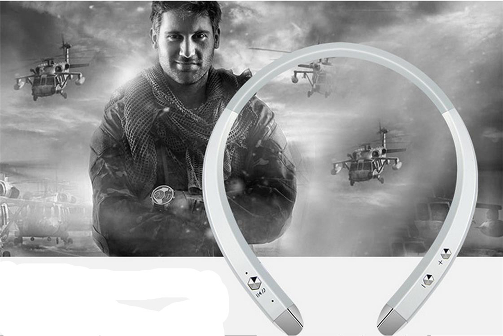 913 Neckband Style Wireless Sport Stereo Bluetooth Headset Headphone With Microphone for iPhone And Others