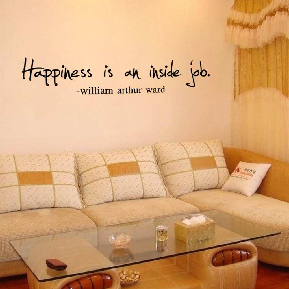 DSU Vinyl Decor Happiness is inside job Wall Sticker Home Decor for ...