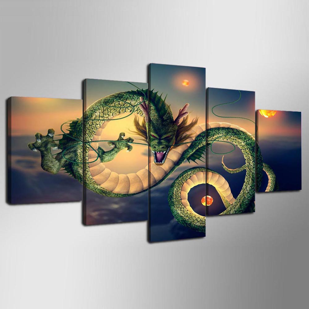 YSDAFEN 5 Piece Modular Canvas Painting Wall Art for Home Wall Decor