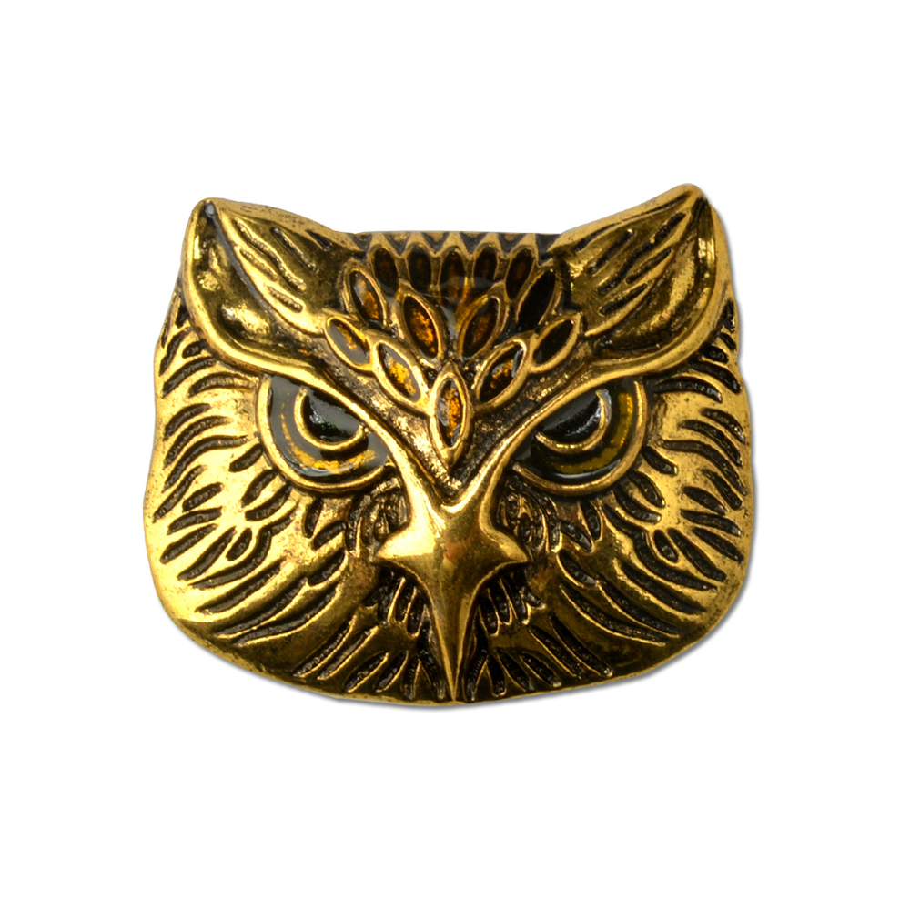 Vintage Owl Brooch Corsage Scarf Clip Crystal Parrots Brooches Lapel Pin Broches Jewelry For Men
