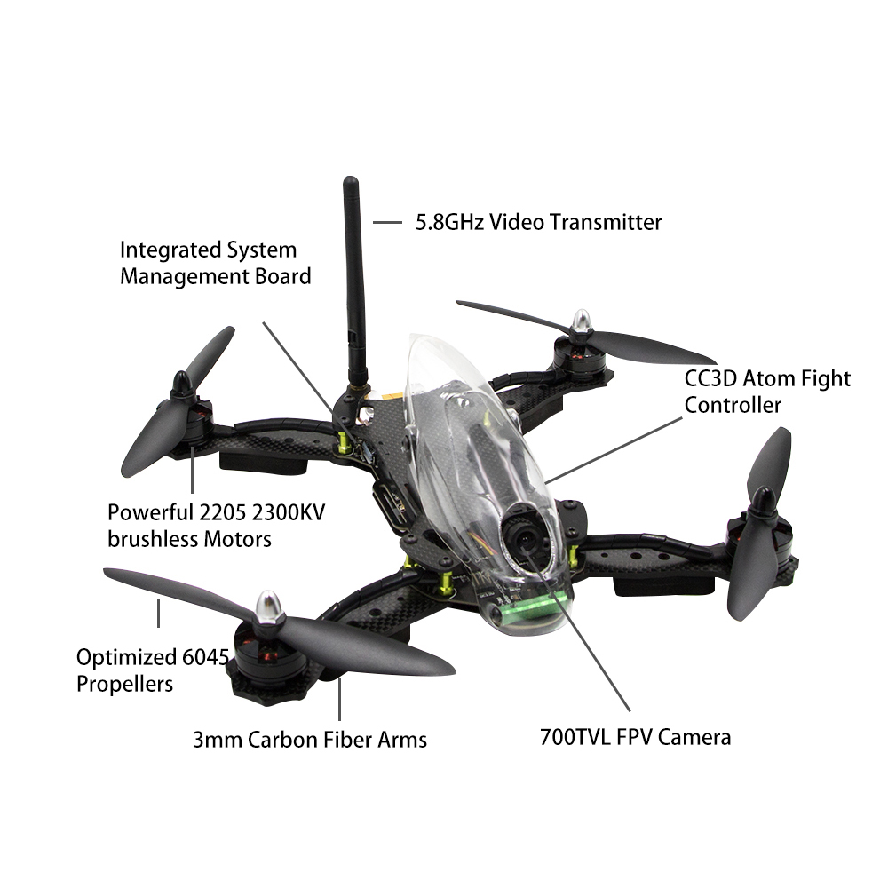 Lieber Hawk 280mm Professional 4 Axis Rc Drone With Hd Camera Fpv Esc 30a Brushless Motor Speed Controller For Quadcopter Airplane Guess You Like