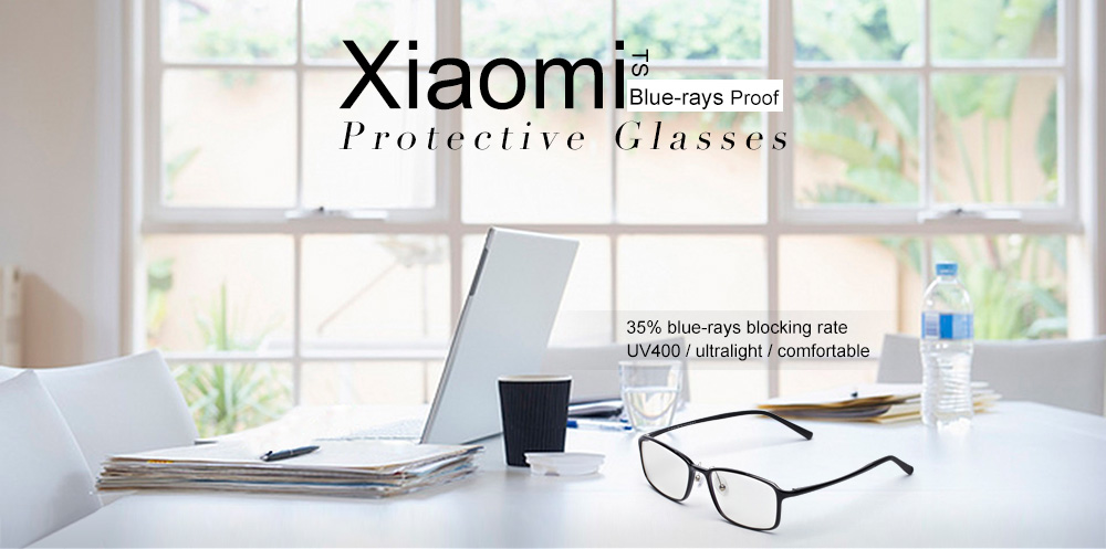 Xiaomi TS Anti-blue-rays Portable Protective Glasses -  19.99 Free ... ac0b2431d30