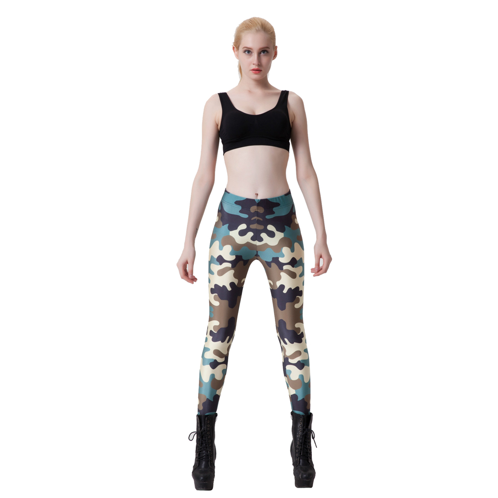 Camouflage Ladies Army Camouflage Style Color Sexy ...