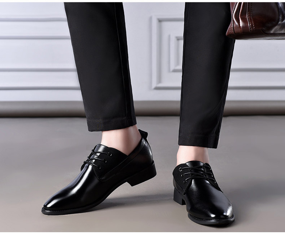 New Fashionable Tidal Current Dress Shoes
