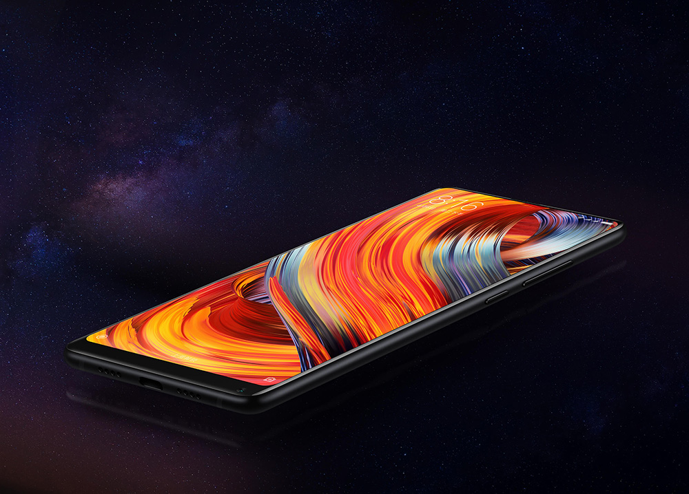 Xiaomi Mi Mix 2 SE 4G Phablet Global Version 5.99 inch MIUI 8 Snapdragon 835 2.45GHz Octa Core 8GB RAM 128GB ROM Fingerprint Scanner 12.0MP Rear Camera
