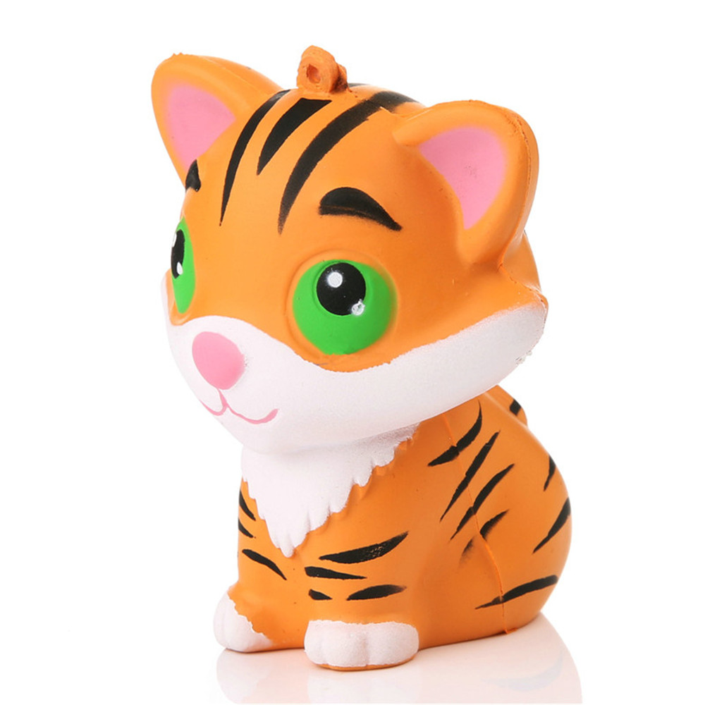 Squishy Questions : Jumbo Squishy Tiger Squeeze Bread Super Slow Rising Toy -  USD3.62 Online Shopping GearBest.com