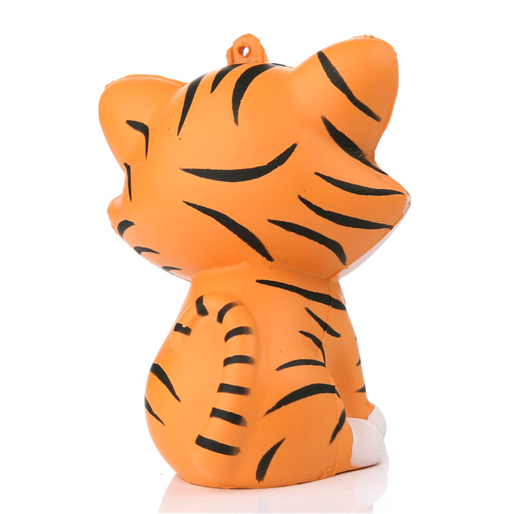Mobile Phone Straps Super Slow Rising Animal Phone Straps Kawaii Tiger Squeeze Jumbo Squishy Bread Soft Scented Cake Toys Doll Gift
