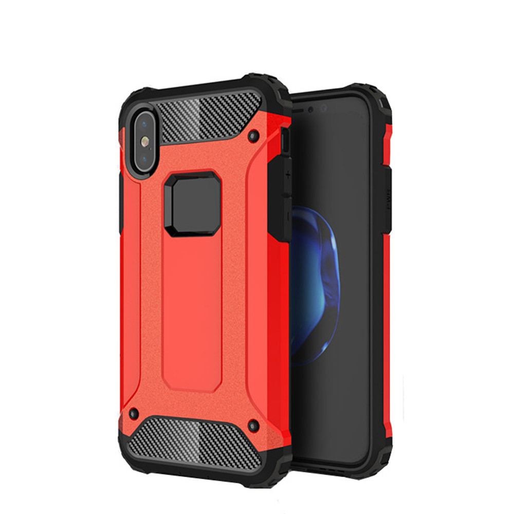 For iPhone X Tough Armor TECH with Extreme Shock and Drop Protection