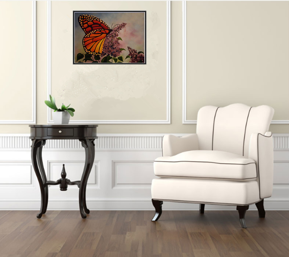 Naiyue S097 Butterfly Print Draw Diamond Drawing