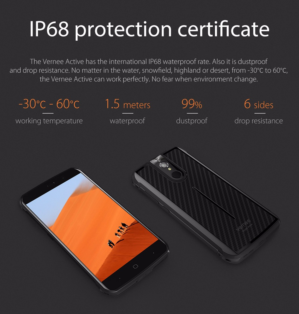 Gearbest Usa Vernee Active V1 4g Phablet 32654 Free Shipping Blackview Bv7000 Pro 64gb Ram 4gb Ip68 Waterproof Dustproof Drop Resistant Package Size 1960 X 380 Cm 772 15 Inches Weight 04850 Kg Product 1560 800 112 614 315 044