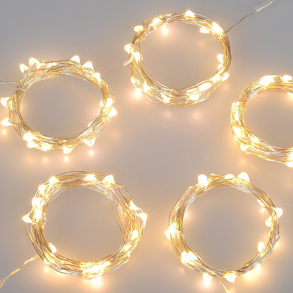 BRELONG 2m20LED Copper wire string lights For Christmas Indoor Decorations 1pcs