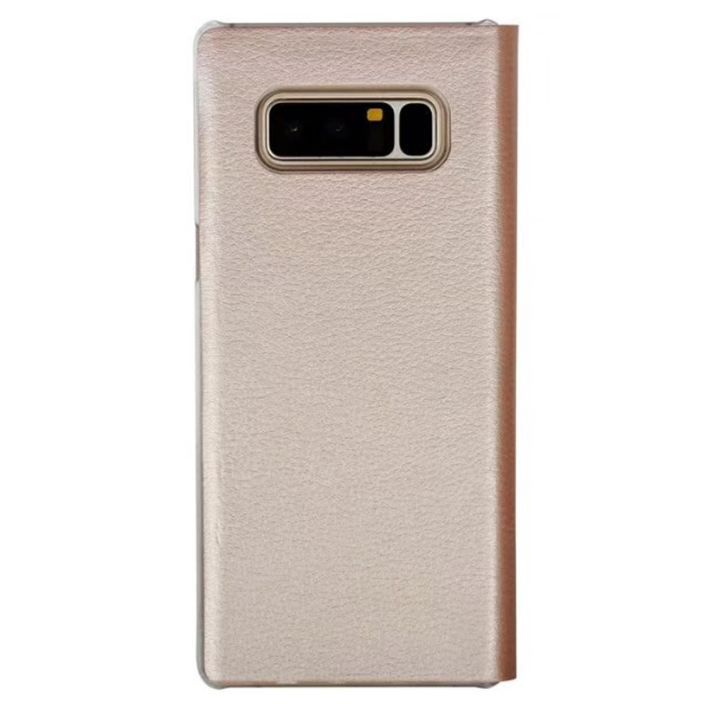 For Samsung Galaxy Note 8 Case Leather Flip Wallet Magnetic Luxury With Card Slot hold-