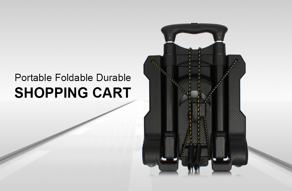 Portable Foldable Durable Shopping Cart for Hiking Camping