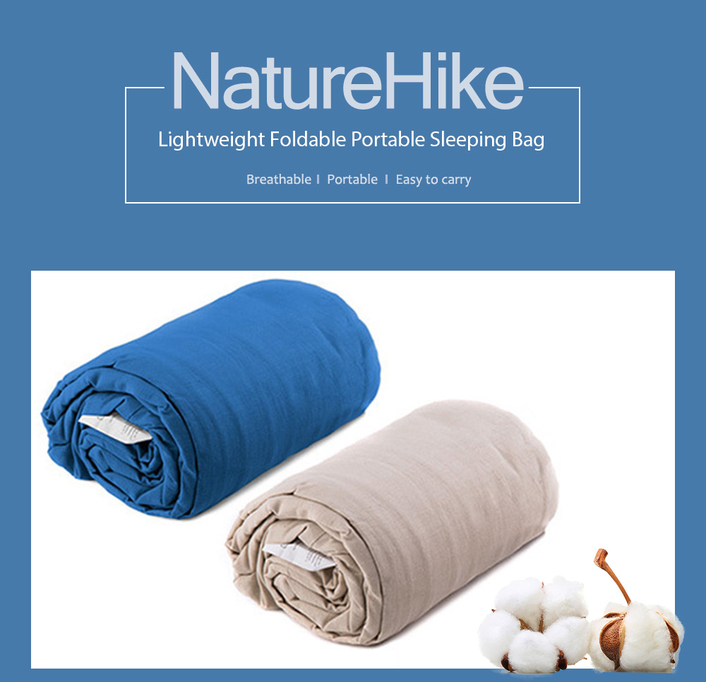 NatureHike Lightweight Inflatable Cushion Sleeping Bag