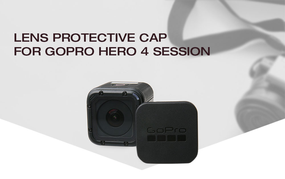 Lens Protective Cap for GoPro Hero 4 Session / Sports Camera Accessory