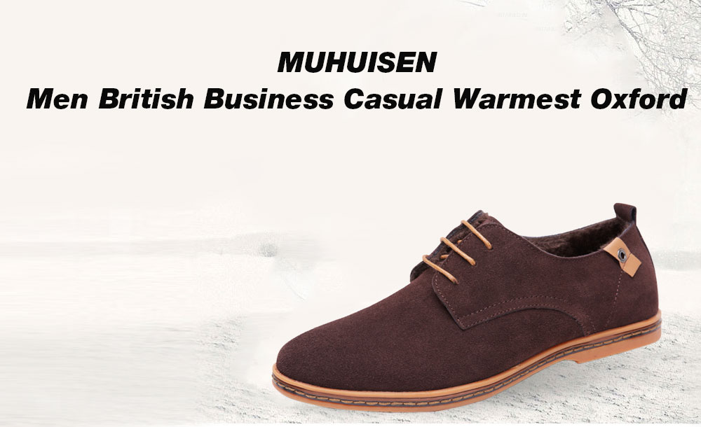 MUHUISEN Male British Warmest Well-dressed Oxford Shoes clearance pick a best buy cheap footlocker browse online Vub2OD