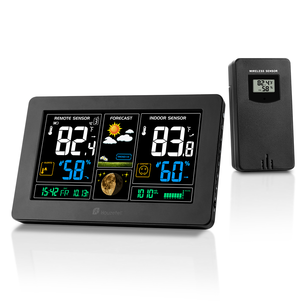 Houzetek PT3378 Weather Station Coupon Code and Review 2018