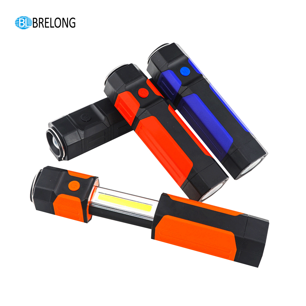BRELONG LED Retractable Flashlight  Outdoor camping nightlights