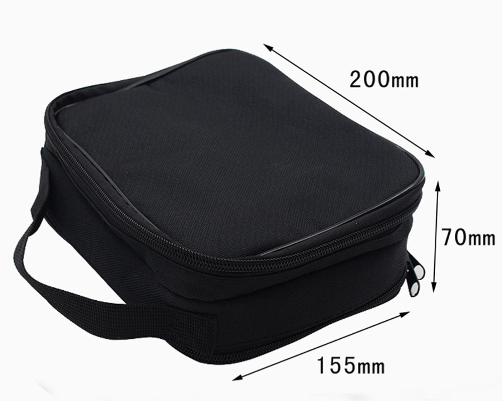 Original Iwodevape E-Cigarette DIY Tool Storage Bag Out of The Bag Cheap Double-Layer Space Package Black