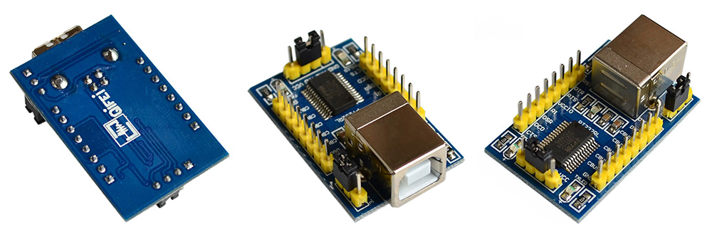 Portable FT232RL USB to TTL Serial Adapter Module for Arduido