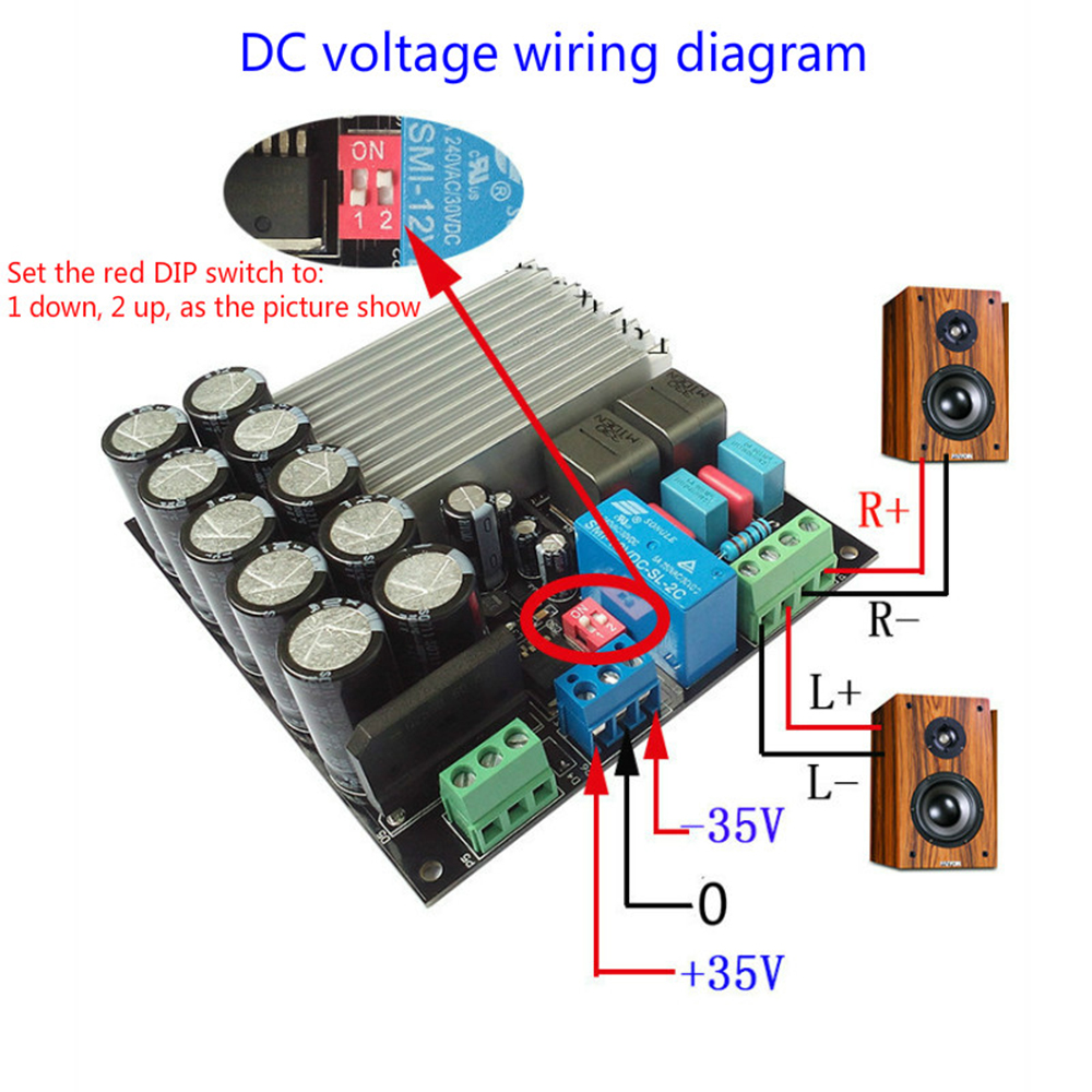 Tda8954 Digital Amplifier Board Amplificador 210w Class D Fever Razor Scooter Battery Wiring Diagram Package Contents 1 X