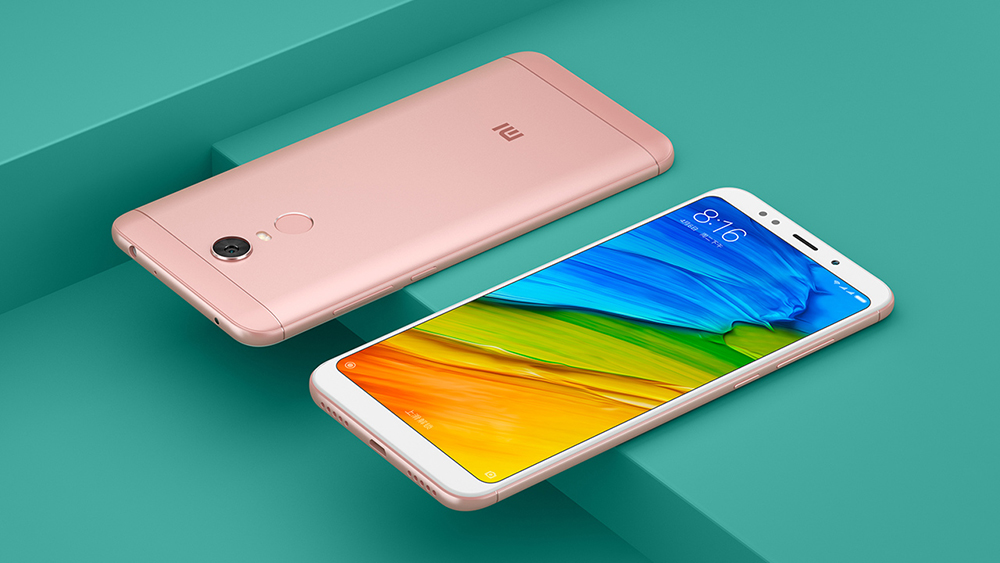 Xiaomi Redmi 5 Plus 4G Phablet 5.99 inch Snapdragon 625 2.0GHz Octa Core 3GB RAM 32GB ROM FHD+ Screen 12.0MP Camera
