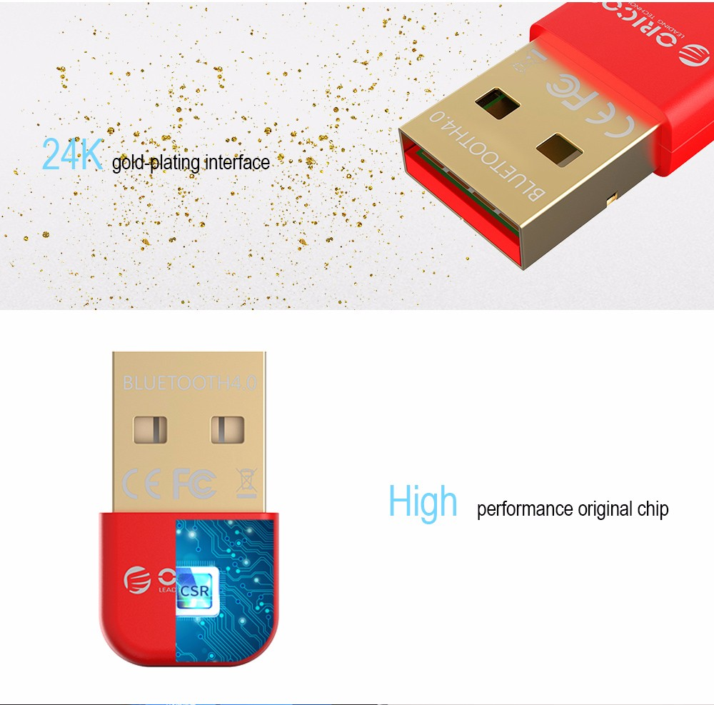 ORICO BTA-403 Mini USB Bluetooth 4.0 Adapter Dongle with CSR8510 Chipset