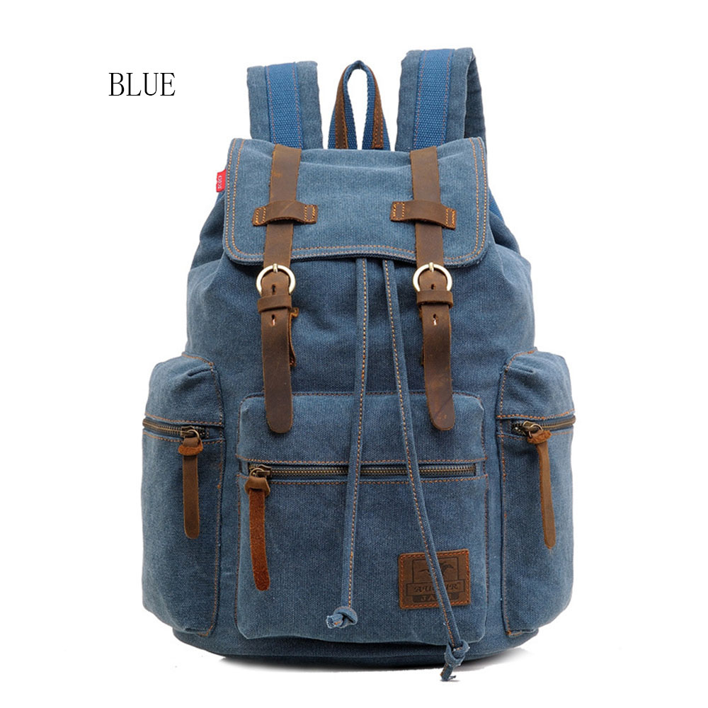 Woman PU ​​retro Practical Portable Large Capacity New Classic Fashion All-match Travel Backpack