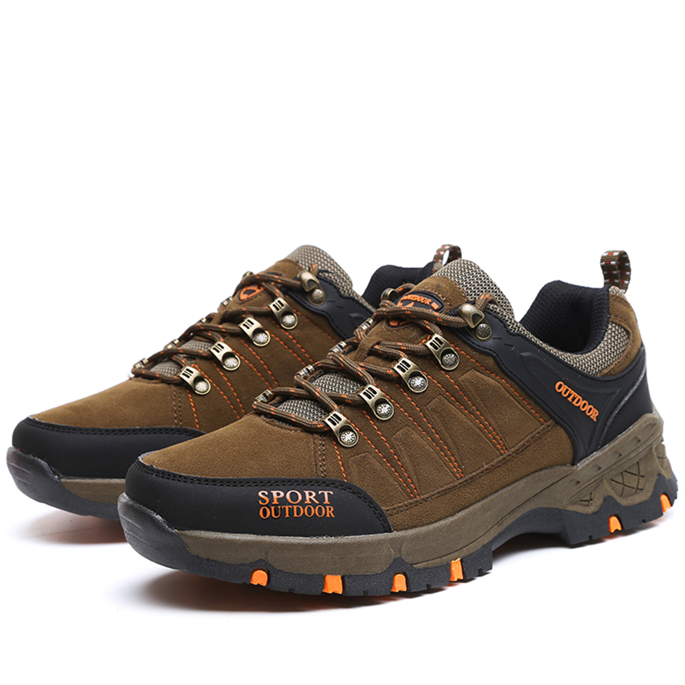 Men Casual Hiking Outdoor Slip on Suede Shoes - Macaroni And Cheese 40 sale 2015 new buy cheap pay with paypal ihtHiB