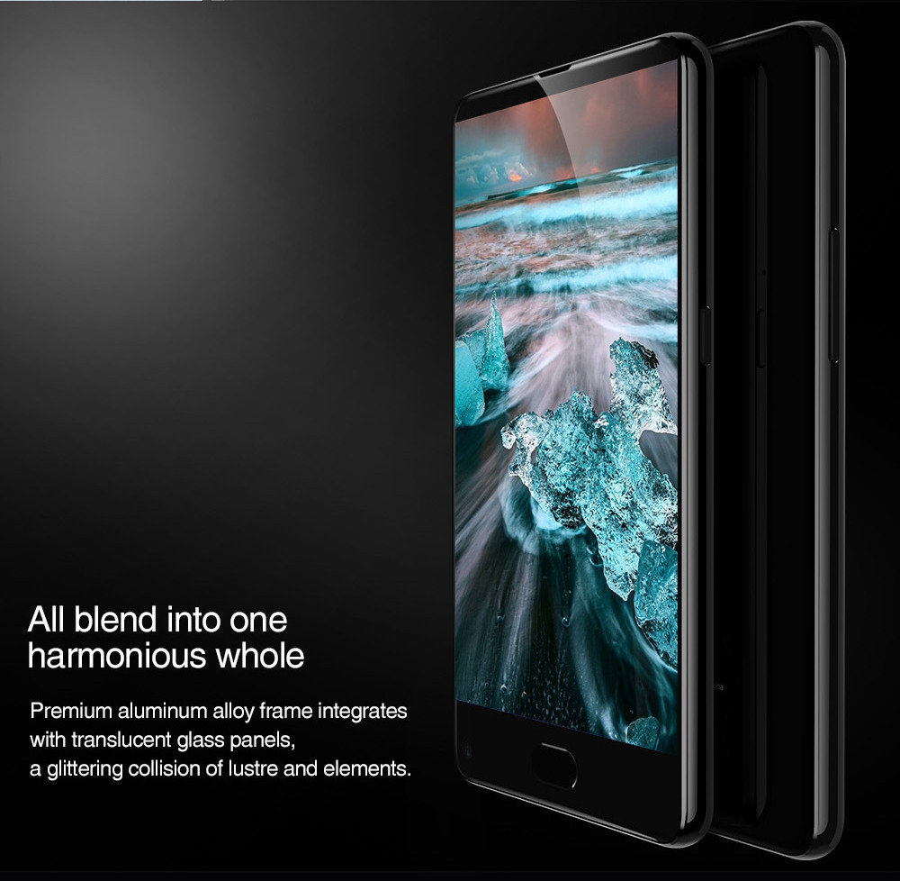 UHANS MX 3G Smartphone Android 7.0 5.2 inch MTK6580 1.3GHz Quad Core 2GB RAM 16GB ROM Fingerprint Scanner 8.0MP Rear Camera