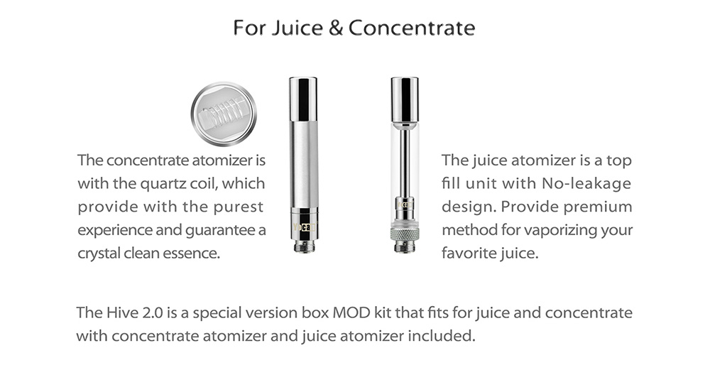 Yocan Hive 2.0 Juice Top Filling Atomizer